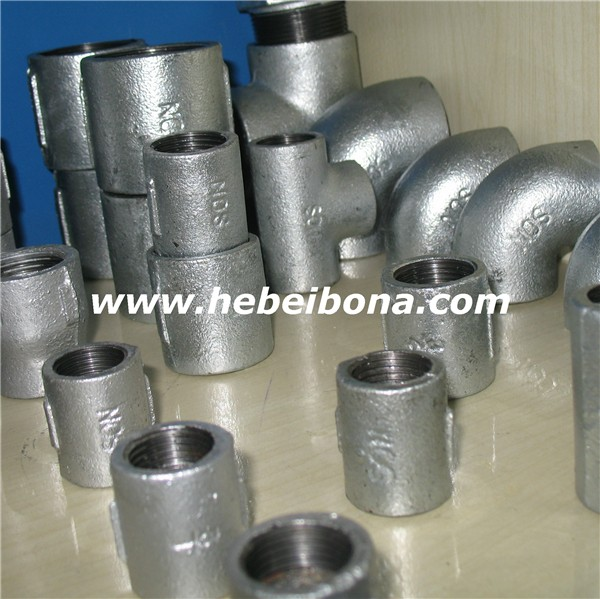 Galvanized Cast Iron Threaded Pipe Fitting For Plumbing - Buy