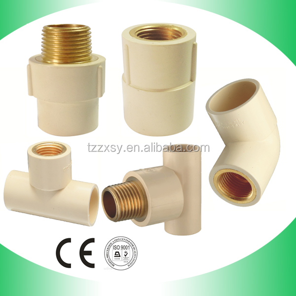 Hot Water Supply Cpvc/pvc Plastic Sanitary Pipe Fittings