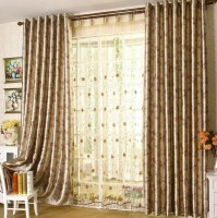 2015 New Design Living Room Curtain Beautiful Flower ...