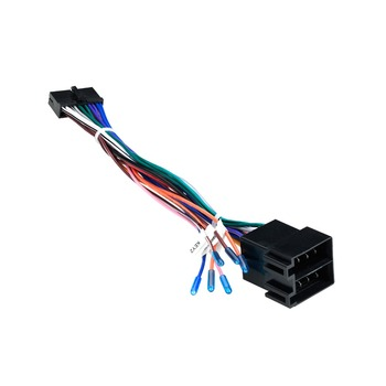 Iso Wiring Harness Of The Installation For Bmw E46 Units On Rover 75