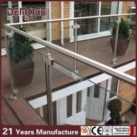 Glass Balustrade Systems Balcony Railing Exterior Handrail