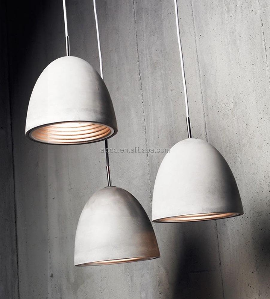 Modern Industrial Concrete Light Decorative Home Hanging
