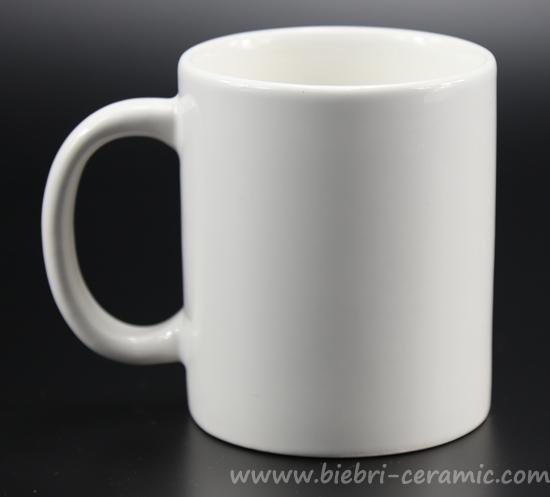 Plain White Custom Design Tea Coffee Ceramic Porcelain