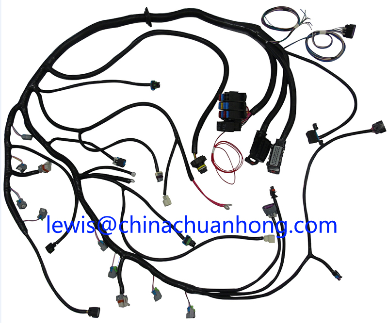 Transmission Wire Harness circuit diagram template