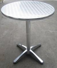 Stainless Steel Round Coffee Table - Arnhistoria.com
