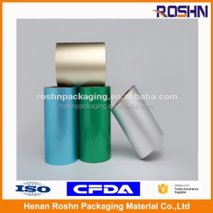 Printed Alu Alu Foil Roll Cold Forming Aluminum Foil Pharmaceutical Blister Pack