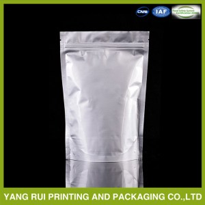 2016 Custom Made Aluminum Foil Plastic Food Packaging Bag