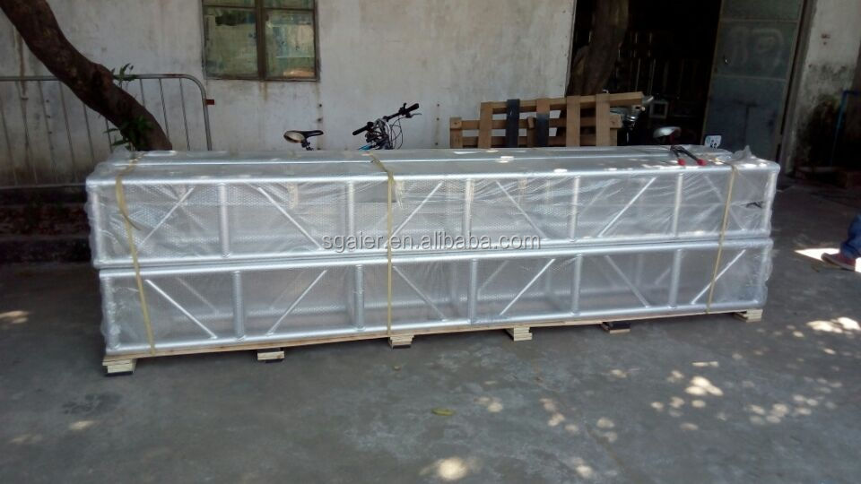 12m8m8m Roof Truss System With Canvasspigot Truss