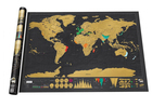 Black Scratch World map stock, unable to customize
