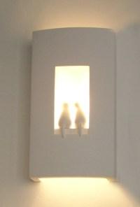 Fancy Modern Gypsum Plaster wall lamp, View Plaster/Gypsum ...