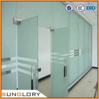 Glass Door & InteriorAntique Rectangle Sliding Abstract ...