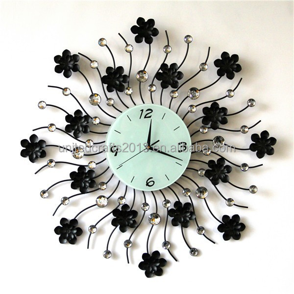 Modern Wall Clock Living Room Diy 3d Home Decoration Mirror Large - living room clock