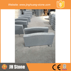 High polished grey granite headstone,hand carving tombstone monument