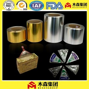 soft temper aluminum foil for butter paper packaging