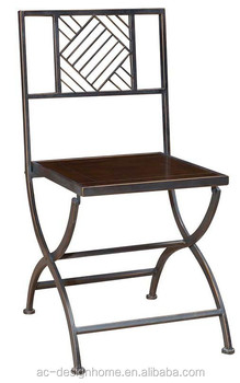 Pine Wood Iron Folding Chair Buy Antique Wood Folding