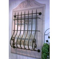 Decorative Security Window Bars  Shelly Lighting