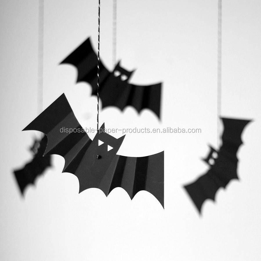 bats decorations set of eight buy halloween download - Bats Halloween Decorations