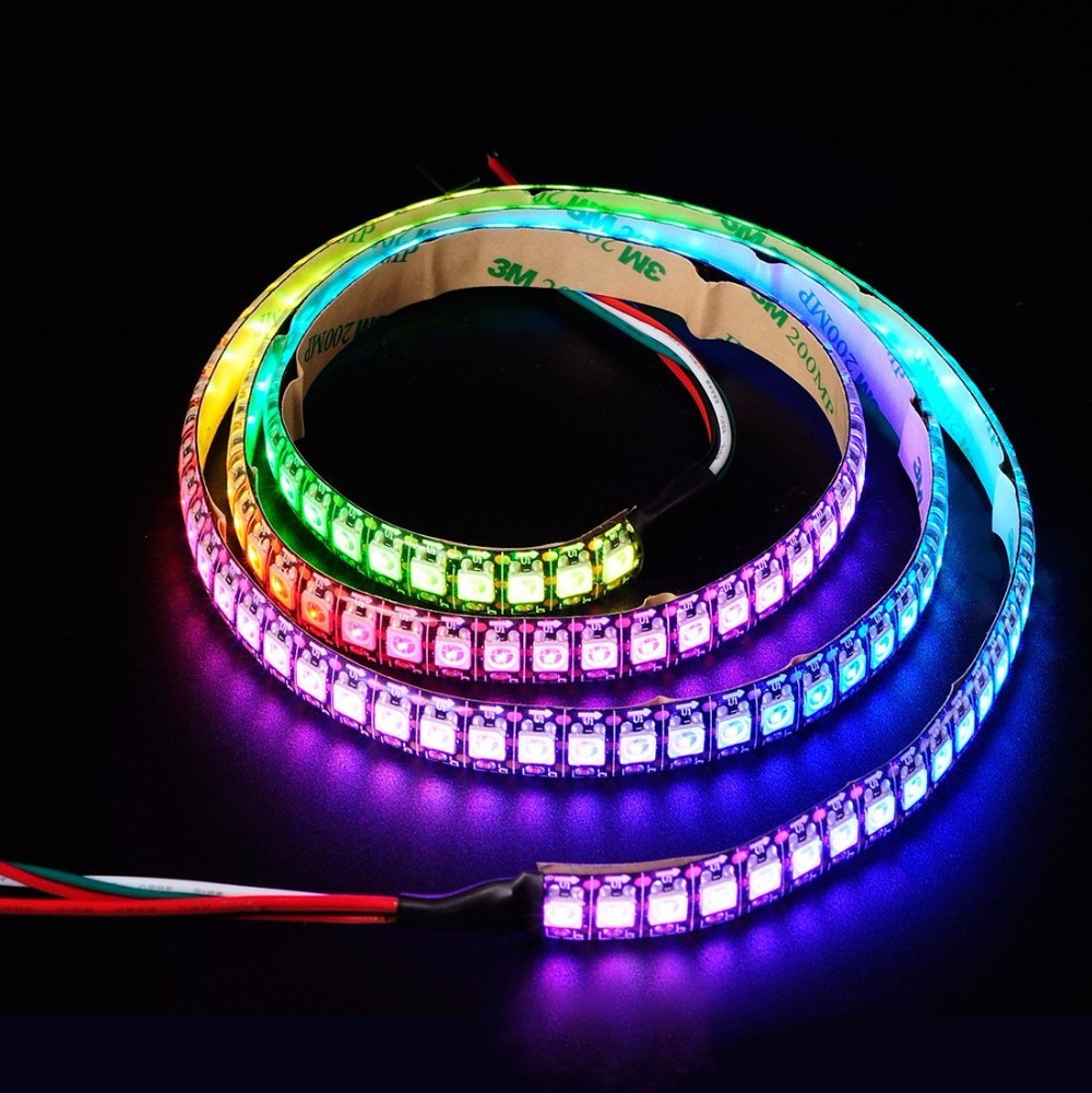 Led Light Strips Rgb Ws2812b Led Strip Lights Dynamic Rgb Led Light Strip Usb 5v Tv Backlight Bias Lighting 2812 Ic Smd 5050 Flexible Neon Led Tape Buy Ws2812b Led Strip