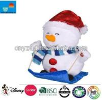 Animated Indoor Christmas Decorations/snow Christmas Doll ...