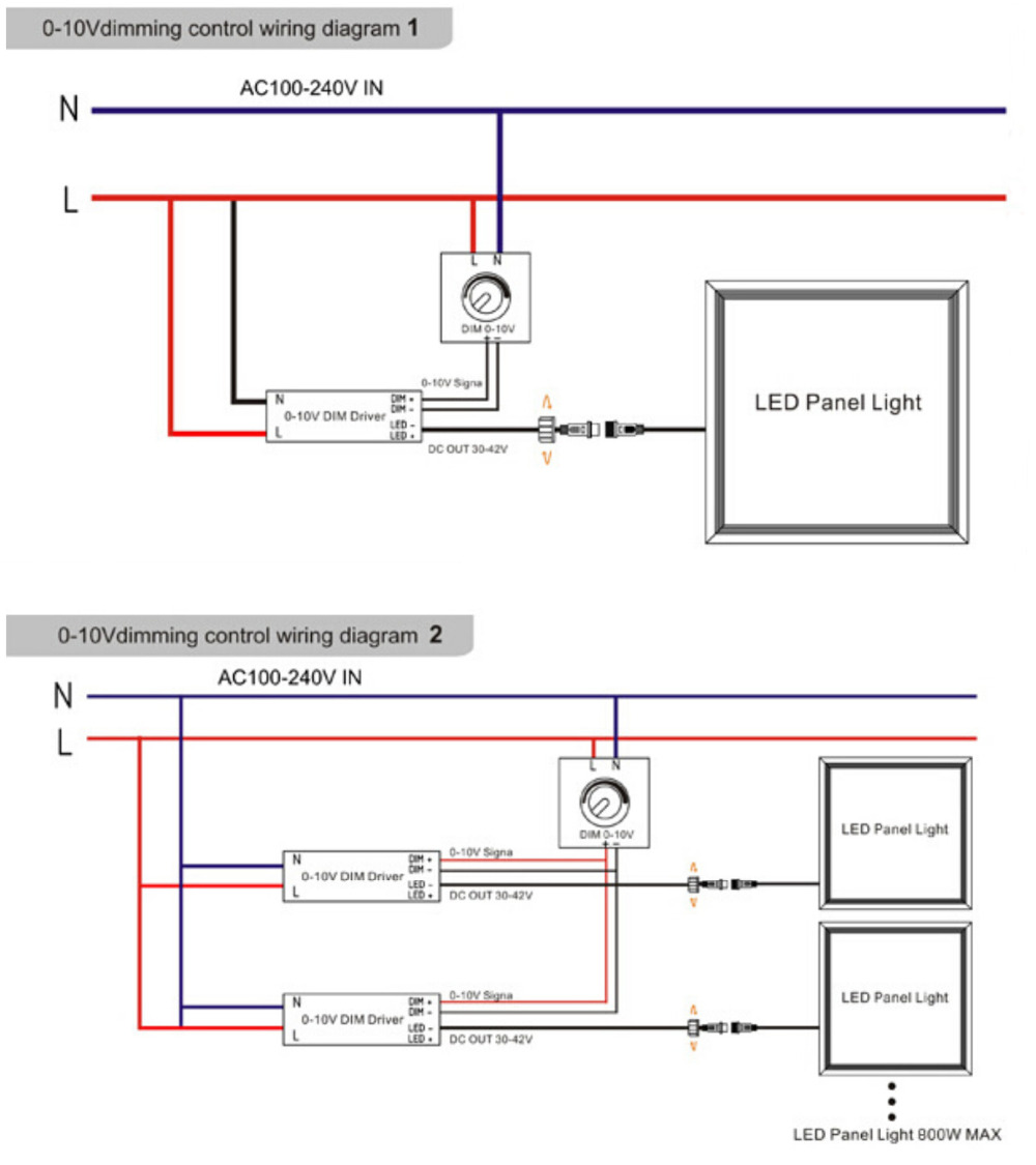 led power driver wiring diagram