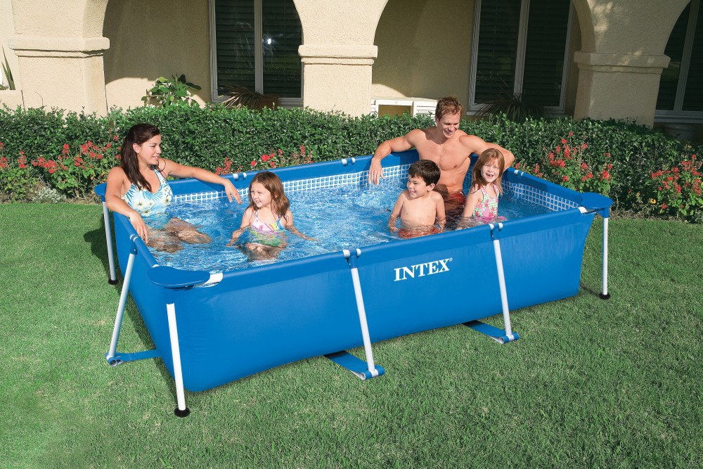 Intex Zwembad 366 Action 2015 Outdoor Plastic Intex Swimming Pools For Sale