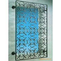 Wrought Iron Interior Security Window Grill Design - Buy ...