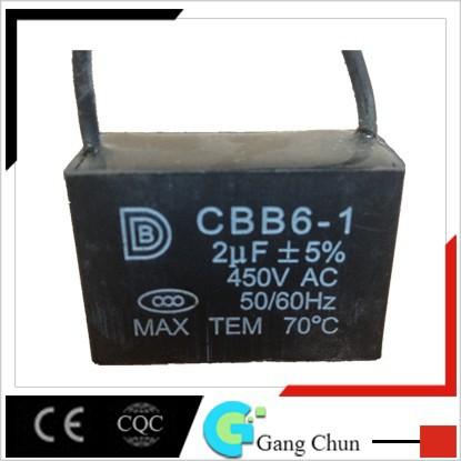 Cbb61 Capacitor 450vac Ceiling Fan Wiring Diagram Capacitor Cbb61
