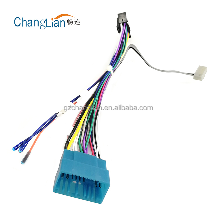 Scosche Radio Wiring Harness For 2000up Gm Ribbon Style Wiring Diagram