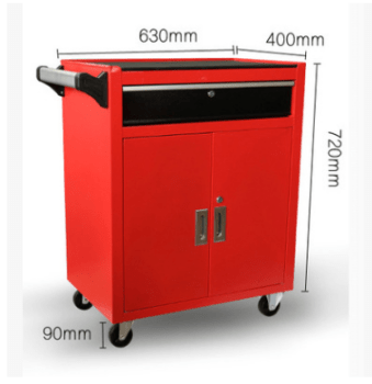 Stainless Steel Tool Chest / Mobile Tool Cabinet Trolley