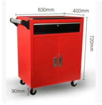 Stainless Steel Tool Chest / Mobile Tool Cabinet Trolley ...