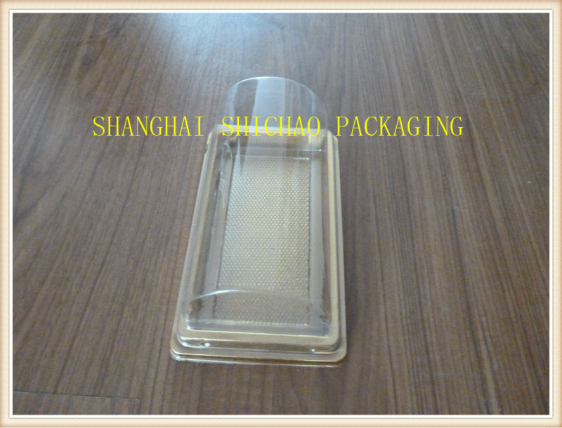Disposable Plastic Clear Large Round Cake Box Made In