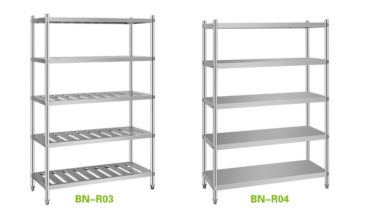 Stainless Steel Plate Rack 3 Tiers Storage Rack Storage