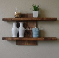 Custom Solid Wooden Mounted Wall Decorative Shelf