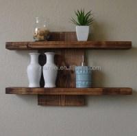 Custom Solid Wooden Mounted Wall Decorative Shelf - Buy ...