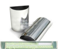 304 Stainless Steel Semicircle / Half Round Tube / Pipe ...