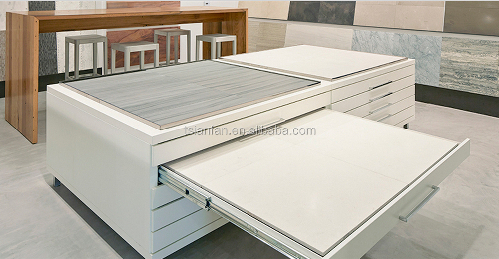 Floor Tiles Display For Ceramic Tile With Drawer Buy