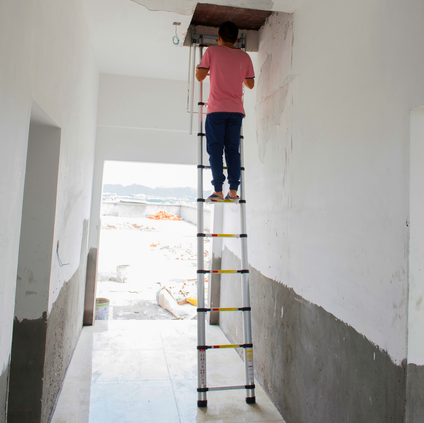 Pull Down Stairs For Loft Pull Down Ladders Pull Down Ladders Suppliers And Manufacturers
