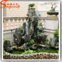 Pool Fountains And Indoor Decorative Waterfall Fountains ...