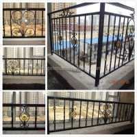 Balcony Grill Designs/outdoor Wrought Iron Railings/iron ...