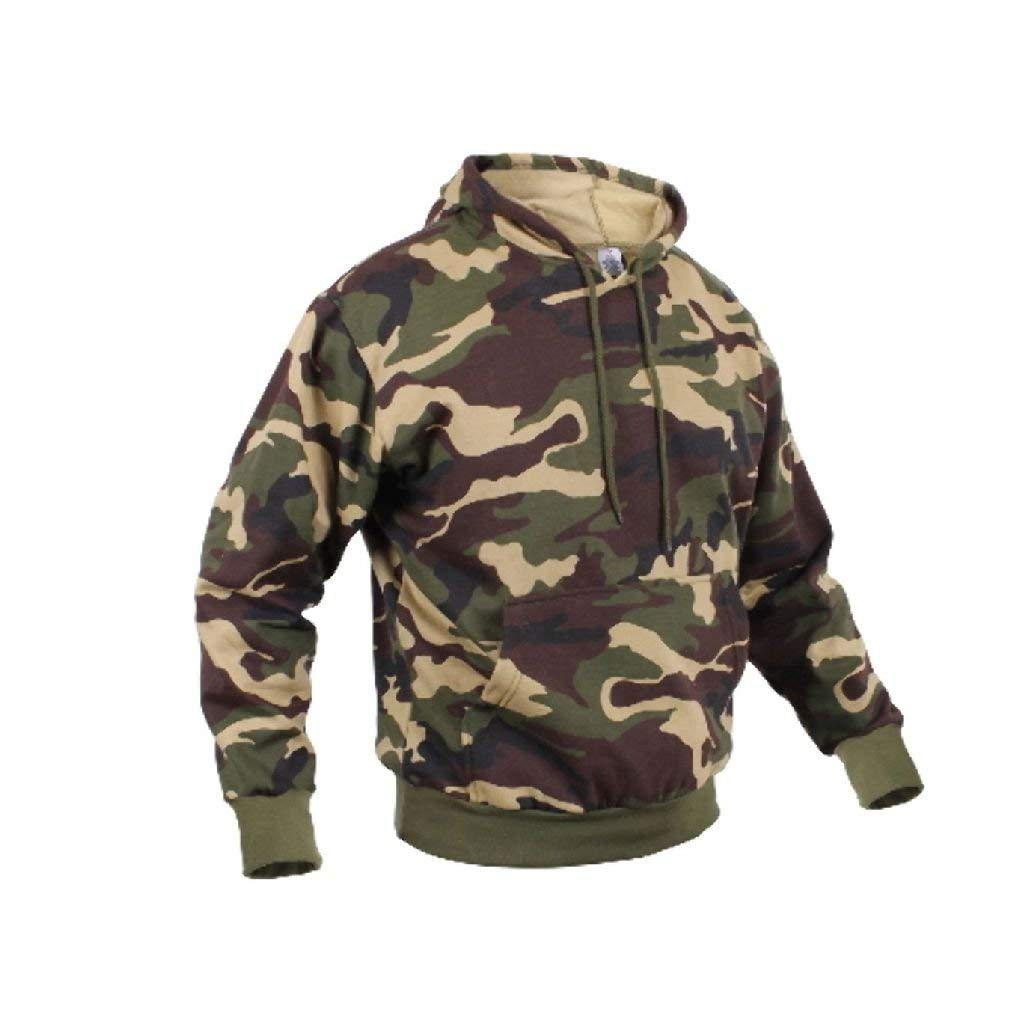 Camo Hoodie India Buy Woodland Army Camo Pullover Hunting Winter Hoodie Fleece