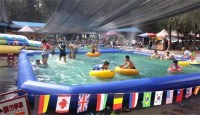 Large Small Backyard Inflatable Pool Furniture Inflatable ...