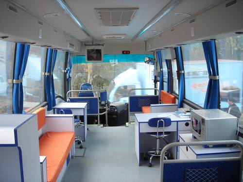 Hanging Chair (manufacturer): Medical Bus / Blood Donator Vehicle With