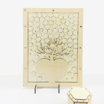 Solistar Custom Wooden Wedding Guest Book Drop - Buy Wedding Guest - where to buy wedding guest books