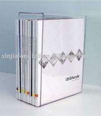 Clear Acrylic Magazine Holder Or Acrylic Book Shelf With ...