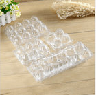 plastic quail egg packaging tray crate with different cavilty