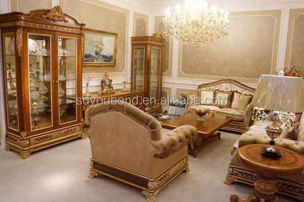 0062 Royal Furniture Classic Sofa Set Home Furniture Italian - antique living room sets