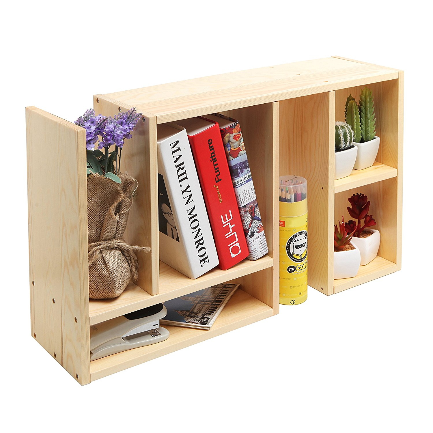 Wood Desk Organizer Set Cheap Small Desktop Book Shelf Find Small Desktop Book