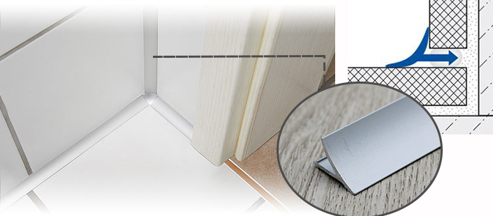 Bathroom Aluminum Cove Tile Trim For Wall Floor Joint Buy Tile Trim Cove Tile Trim Aluminum