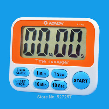 Timer Countdown Up Fast Setting Digital Lcd 12 Hours Clock Kitchen