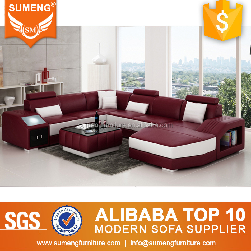 Sofa Led Sumeng Led Light Full Grain Sectional Leather Sofa From China Buy Led Sofa Sectionals Sofa From China Full Grain Leather Sofa Product On Alibaba